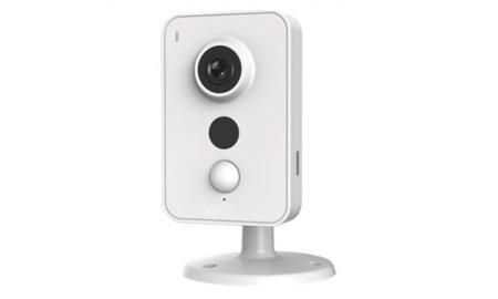 Dahua IPC-K46 Full HD 4MP WiFi cube camera met microfoon en luidspreker, PIR detectie, IR nachtzicht en SD kaart slot