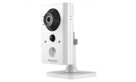 Hikvision HWC-C220-D/W HiWatch Full HD 2MP WiFi cube met IR nachtzicht, PIR detector, microSD en 2-weg audio