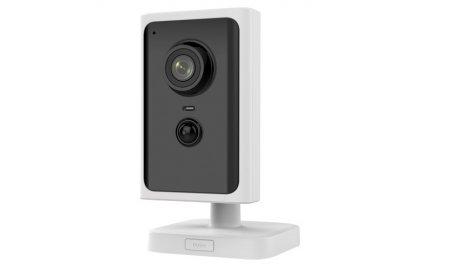 Safire SF-IPCU202AWH-2W Full HD 2MP WiFi cube met IR nachtzicht, PIR detector, PoE, microSD en 2-weg audio