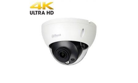 Dahua IPC-HDBW1831R 4K Ultra HD 8MP buiten dome met POE, IR nachtzicht, H.265 en 120dB WDR