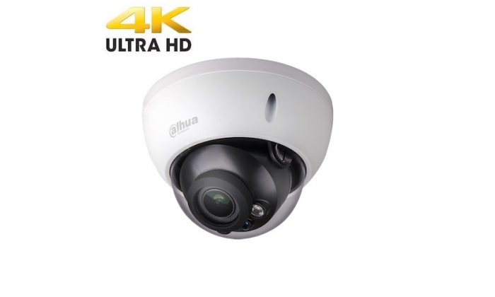 Dahua IPC-HDBW2831RP-ZS Ultra 4K HD 8MP outdoor dome camera with POE,  motorized varifocal lens, IR night vision, 120dB WDR and H 265