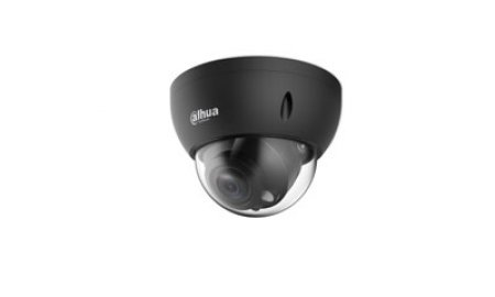 Dahua IPC-HDBW3441R-ZS-B zwarte Full HD 4MP Starlight Lite AI buiten dome camera met 40m IR, varifocale lens, PoE, microSD