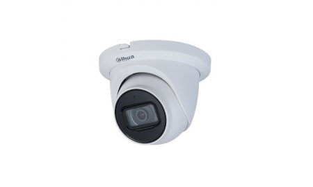 Dahua IPC-HDW3441TM-AS Full HD 4MP Starlight Lite AI buiten eyeball camera met 50m IR, microfoon, PoE, microSD