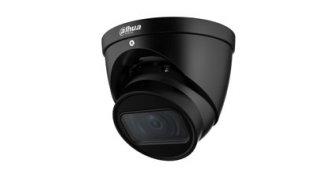 Dahua IPC-HDW3441T-ZAS-B zwarte Full HD 4MP Starlight Lite AI buiten eyeball camera met 40m IR, varifocale lens, microfoon, PoE, microSD