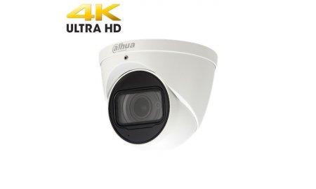 Dahua IPC-HDW5831R-ZE Ultra 4K HD 8MP buiten eyeball camera met ePOE, IR nachtzicht, gemotoriseerde varifocale lens, H.265 en 120dB WDR