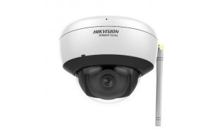Hikvision HWI-D220H-D/W HiWatch Full HD 2MP WiFi buiten dome met IR nachtzicht, microSD en microfoon