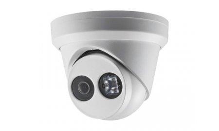 Hikvision DS-2CD2343G0-I 4MP Full HD dome buiten camera met 2.8mm lens, IR nachtzicht, PoE, 120dB WDR en microSD opname