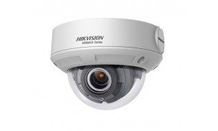 Hikvision HWI-D620H-Z HiWatch Full HD 2MP buiten dome met IR nachtzicht, gemotoriseerde varifocale lens, microSD, 120dB WDR en PoE