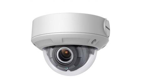 Safire SF-IPDM834ZWAH-4 4MP buiten dome met IR nachtzicht, gemotoriseerde varifocale lens, microSD, 120dB WDR, PoE, audio en alarm IO