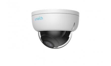 Uniarch IPC-D112-PF28 Full HD 2MP buiten dome camera met 30m Smart IR, WDR, PoE