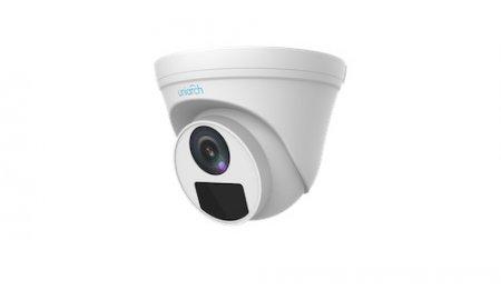 Uniarch IPC-T112-PF28 Full HD 2MP buiten turret camera met 30m Smart IR, WDR, PoE