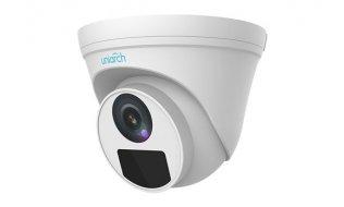 Uniarch IPC-T124-PF28 Full HD 4MP buiten turret camera met 30m Smart IR, WDR, PoE