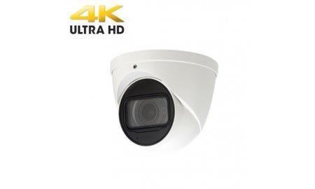 X-Security XS-IPDM987ZW-8 Ultra 4K HD 8MP buiten eyeball camera met ePOE, IR nachtzicht, gemotoriseerde varifocale lens, H.265 en 120dB WDR