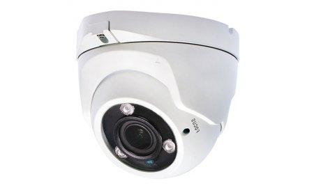 X-Security XSC-IPT957VAH-5E Full HD 5MP buiten eyeball camera met IR nachtzicht, varifocale lens, microfoon en PoE