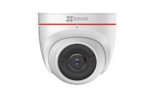 EZVIZ Hikvision C4W WiFi Full HD 2MP turret camera voor buiten met nachtzicht, audio, microSD en flitslicht