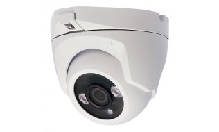 X-Security XSC-IPT821AH-5E Full HD 5MP buiten eyeball camera met IR nachtzicht, vaste lens, microfoon en PoE
