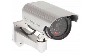 WL4 BDO-LED-S realistische dummy beveiligingscamera voor buiten met knipperende LED