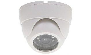 WL4 EDI-LED-W realistische dummy beveiligingscamera voor binnen met knipperende LED