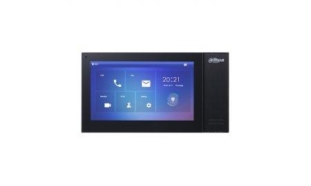 Dahua VTH2421FB-P IP video intercom binnen monitor netwerkkabel aansluiting met PoE