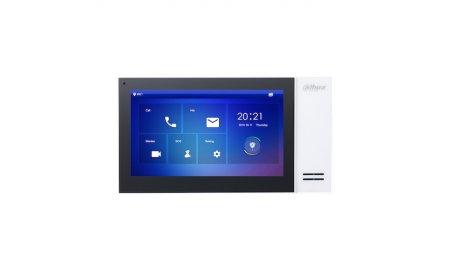 Dahua VTH2421FW-P IP video intercom binnen monitor netwerkkabel aansluiting met PoE