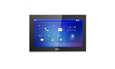Dahua VTH5441G IP video intercom 10 inch touchscreen binnen monitor met PoE