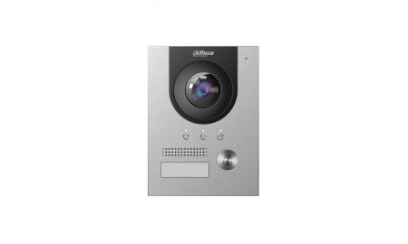 Dahua VTO2202F IP video intercom buiten station netwerkkabel en 2-wire aansluiting