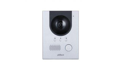 Dahua VTO2202F-P IP video intercom buiten station netwerkkabel PoE en 2-wire aansluiting