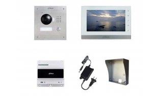 X-Security VTK-S2000-2 IP video intercom complete opbouw KIT met controller (2 draads aansluiting)