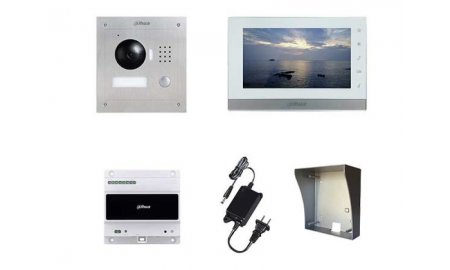 Dahua IP video intercom complete opbouw KIT (2 draads aansluiting)