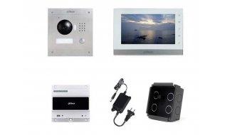 X-Security VTK-F2000-2 IP video intercom complete inbouw KIT met controller (2 draads aansluiting)