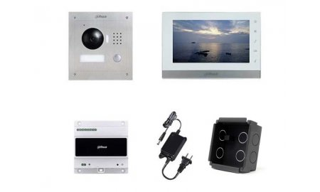 X-Security VTK-F2000-2 IP video intercom complete inbouw KIT met controller (2 draads aansluiting)