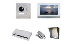 Dahua IP video intercom complete opbouw KIT met switch (netwerkkabel aansluiting)