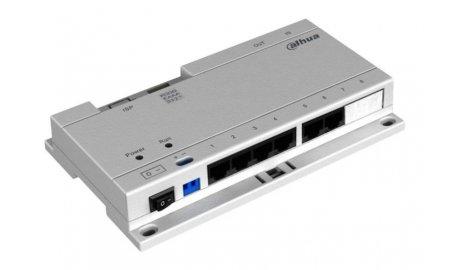Dahua VTNS1060A IP video intercom switch met voeding adapter