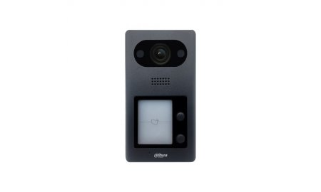 Dahua VTO3211D-P2 IP video intercom 2-knop buiten station (netwerkkabel aansluiting) met PoE en Mifare kaartlezer