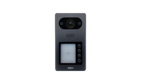 Dahua VTO3211D-P4 IP video intercom 4-knop buiten station (netwerkkabel aansluiting) met PoE en Mifare kaartlezer