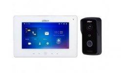 Dahua IP video intercom Wi-Fi kit met VTO2111D-WP-S1 buiten station en VTH5221DW-S1 Wi-Fi monitor