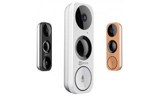 EZVIZ Hikvision DB1 Smart WiFi video deurbel Full HD 3MP met PIR detector, IR nachtzicht en microSD slot