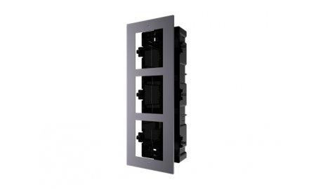 Hikvision DS-KD-ACF3 IP video intercom buiten station drievoudige inbouw behuizing