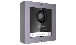 Hikvision DS-KD8003-IME1/SURFACE IP video intercom buiten station camera module met opbouw behuizing