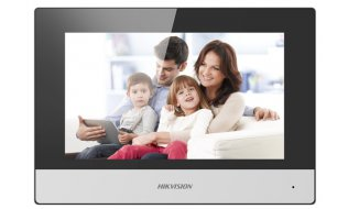 Hikvision DS-KH6320-WTE1 IP video intercom binnen monitor 7 inch touchscreen, PoE, WiFi