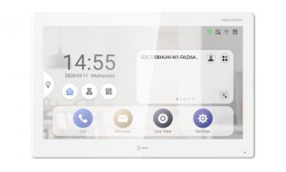 Hikvision DS-KH9510-WTE1 Android IP Monitor 10.1 inch touchscreen WiFi binnen monitor met PoE