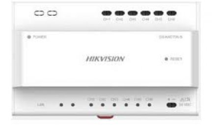 Hikvision DS-KAD706-S Two-Wire IP Video Intercom Cascading Video Audio Distributor