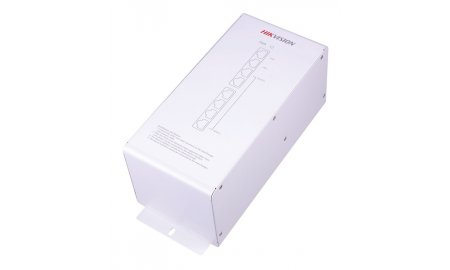Hikvision DS-KAD606 video/audio distributeur met 6 x PoE voeding en 2 x netwerk voor Hikvision IP video intercom