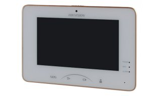 Hikvision DS-KH8301-WT binnen monitor 7 inch Wi-Fi touchscreen met SD kaartslot en camera