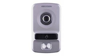 Hikvision DS-KV8102-IP buiten station met infrarood LED verlichting en kaartlezer