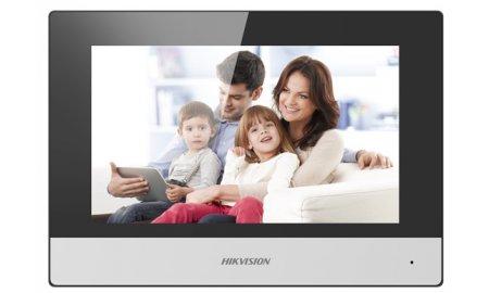 Hikvision DS-KH6320-WTE2 IP video 2-wire intercom binnen monitor 7 inch touchscreen, PoE, WiFi