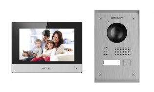Hikvision DS-KIS703-P Two-Wire WiFi IP video intercom kit