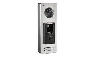 Safire SF-AC3121MFD-IPC stand alone WiFi IP video intercom met gezichtsherkenning, QR code lezer, vingerafdruklezer en paslezer