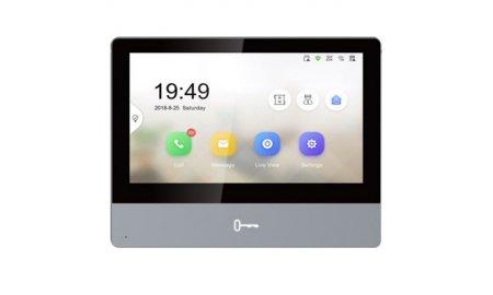 Safire SF-VIDISP02-7WIP IP video intercom binnen monitor 7 inch IPS touchscreen, PoE, WiFi