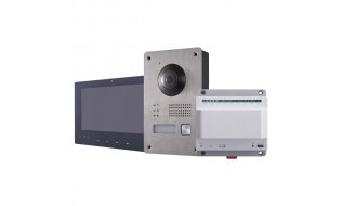 Safire SF-VI302-2 Two-Wire IP video intercom bundel met SF-VI101-2, SF-VI201-2 en SF-VI401-2